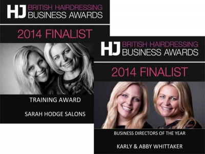 Training Award Nomination– British Hairdressing Awards