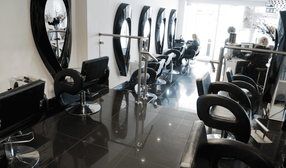 Hair dressing salon